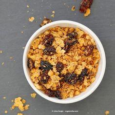 Red Lentil Granola | Vegan Richa