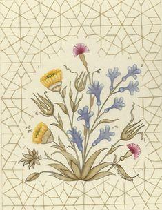 Hülya Aziz-Sümbül, 2009. #hulyaaziz #art #karamemi #lavender #flower #miniature