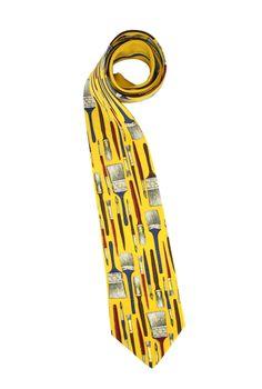 New Fornasetti Silk tie with label/Limited Edition/Vintage neckties/Silk Vintage Neckties/Art/Collectible ties/Gents ties/Italian Brands