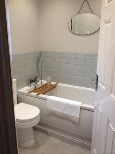 #VPShareYourStyle The Kensington Bath looks great in small white bathroom submitted by Lee from Brighouse