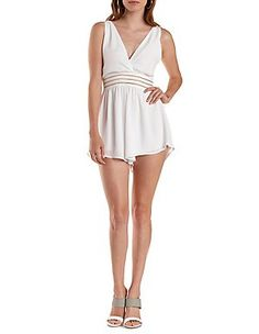 Cute Jumpsuits & Sexy Rompers: Charlotte Russe