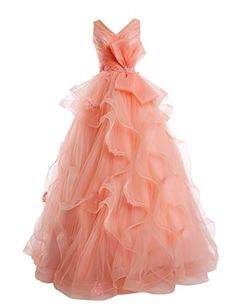 Dresstells Long V Neck Tulle Wedding Dress Lace Prom Dres... https://www.amazon.co.uk/dp/B00Q6G4HTM/ref=cm_sw_r_pi_dp_MfxpxbWAN6CJJ