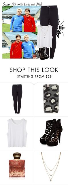 """""""Soccer Aid with Louis and Niall"""" by giovannacarlamalik ❤ liked on Polyvore featuring Pieces, Marc by Marc Jacobs, Inspiritu and Jessica Simpson"""