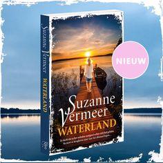 Lees nu 'Waterland' van bestsellerauteur Suzanne Vermeer! Claudette dacht dat ze het verleden voorgoed achter zich had gelaten. Nu moet ze terugkeren naar waar het allemaal begon... Thrillers, Cover, Books, Movie Posters, Art, Art Background, Libros, Thriller Books, Book