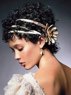 Happy Black and Nappy! (natural hair) :  wedding biracial hair natural hair Fave Hair For Short Style