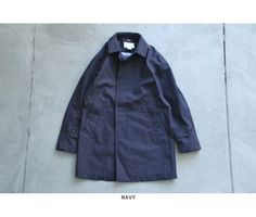 "nanamica(ナナミカ) ""GORE-TEX Soutien Collar Coat"""