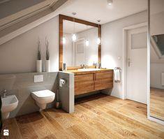 Łazienka na poddaszu - zdjęcie od Mohav Design