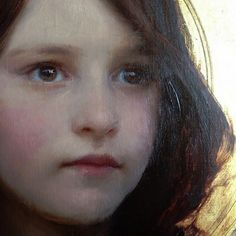 "https://flic.kr/p/x6kovh | Jeremy Lipking ""A portrait of my daughter Skylar"" (detail) c.2013 