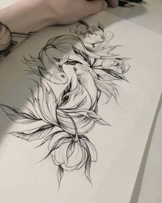 Tattoo Designs That Will Make You Want to Put Them All Over You - Beste Tattoo Ideen Neue Tattoos, Body Art Tattoos, Sleeve Tattoos, Tattoos On Thighs, Tattoo Sleeves, Spine Tattoos, Black Tattoo Art, Tatoo Art, Tattoo Hip