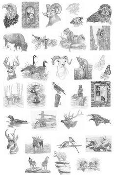 Image result for Free Animal Wood-Burning Patterns