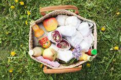 picnic wraps w/ beets, goat cheese, quinoa, raisins, and lentils