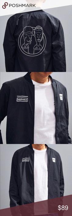 5c739c6792fb adidas X Beavis And Butt-Head Black Jacket Brand new