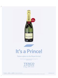 Welcome Prince George from Tesco Prince George Alexander Louis, Moet Chandon, Royal Prince, William Kate, Cambridge, Royals, Britain, Daughter, Baby