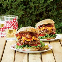 Oh dear lord...pimento cheese bacon burgers...Jake would make me make these tonight if he knew about these