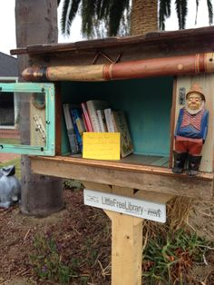 """Christopher Karl. Laguna Beach, CA. In honor of American Librarian Meryl Dewey. At a time when books are becoming less and less common as """"down time,"""" I think it's important to remind people that a book is a gateway to quiet freedom."""