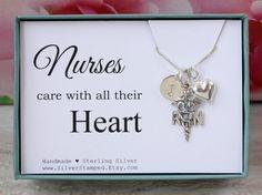 #nurse #giftfornurse #nursenecklace #rn #rnnecklace #christmasgifts #nursegraduation #nursegraduate #sivernecklace