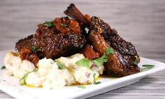 Tunisian Inspired Braised Short Ribs.  can't get enough ribs D: