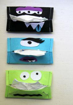 DIY: Boogie Monster Tissue Holder || The Sewing Rabbit