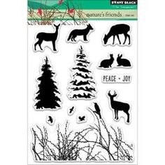 PB30261 Penny Black Clear Stamps Nature's Gift