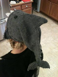 Shark hat :)