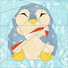 (7) Name: 'Quilting : Penguin #7