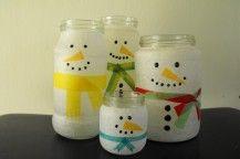 Diy crafts to sell mason jars candle holders Ideas Christmas Craft Fair, Christmas Snowman, Winter Christmas, Christmas Decorations, Snowman Crafts, Diy Crafts To Sell, Holiday Crafts, Mason Jar Crafts, Mason Jar Candles