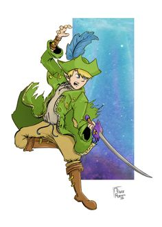 The Pirate Link - Legend of Zelda