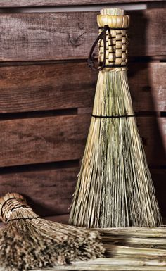 Woven Shaker Whisk Broom - Beautifully natural, our flat sewn shakers wisks are great to keep in a car, rv, or next to the fireplace. Made from broomcorn and durable nylon twine. Stalks are woven tightly into a durable and attractive handle.