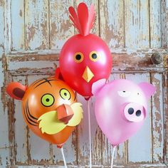 Animal Balloon decorating ideas.