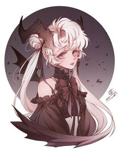 Image discovered by Kim Sun. Find images and videos about cute, anime girl and devil gir on We Heart It - the app to get lost in what you love. Manga Anime, Manga Art, Anime Art, Girl Couple, Couple Art, Sailor Moon, Character Inspiration, Character Art, Matching Profile Pictures