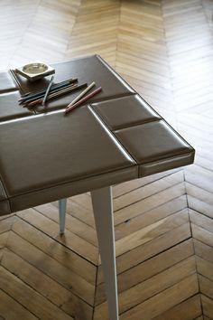 1000 images about cuir au carr on pinterest home. Black Bedroom Furniture Sets. Home Design Ideas