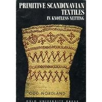 Covers: Primitive Scandinavian textiles in knotless netting by Odd Nordland   LibraryThing