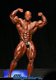 Shawn Rhoden at the 2012 Mr. Olympia competition. Photo by Kostas Marangopoulos. Contest coverage by the Largest Greek Bodybuilding & Fitness Site on the web, Bodybuilders.gr. Check out our more photos from the 2012 Mr. Olympia here: http://www.bodybuilders.gr/forum/forumdisplay.php?f=76