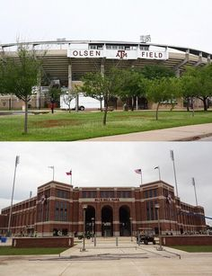 Then & now: Olsen Field at Blue Bell Park