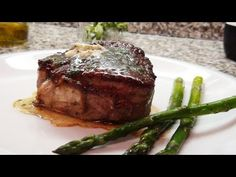 Delicious filet...sear on stove 3 minutes each side then finish in oven at 450 with butter...great