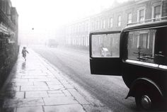 Robert Frank : London Street 1951