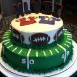 Super Bowl Football Cake
