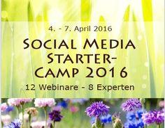 Social+Media+Starter-Camp,+4.+bis+7.+April+2016+-+Frühbucherbonus
