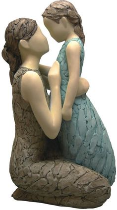 Loving Arms-Mother and Daughter Statue. Available at AllSculptures.com