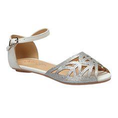 34881455ac50 Nichole Simpson Women s Glitter Gladiator Sandal