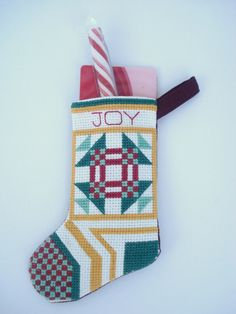 Joy Christmas Stocking Ornament Gift Card Holder by DonnaDesigned, $15.00  https://www.etsy.com/listing/156432710/joy-christmas-stocking-ornament-gift?ref=shop_home_active