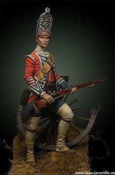 English Grenadier 18th Foot – 1751