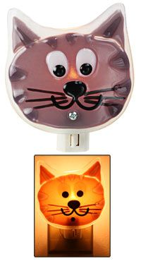 Go to Bed Kitty Night Light at The Animal Rescue Site