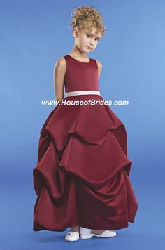 eden bridals flowergirl dresses style 12236 | house of brides    For the jr. bridesmaid? $110