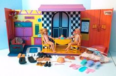 Vintage Mod Era Barbie Family House Original Furniture 1968 Mattel PLUS More Lot #1968 http://www.medusamaire.com/my-ebay-items/ to see all of my items for sale!