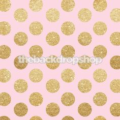 The Backdrop Shop - Pink and Gold Glitter Dot Backdrop - Sweet 16 Photography Background - Baby Girl Polka Dot Back Drop Exclusive Design - Item 2131, $10.99 (http://www.thebackdropshop.com/pink-and-gold-glitter-dot-backdrop-sweet-16-photography-background-baby-girl-polka-dot-back-drop-exclusive-design-item-2131/)