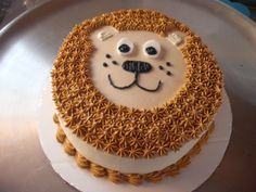 - Got this cake idea from the Wilton website