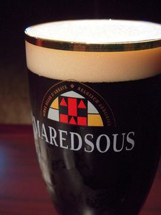 #Maredsous - probably my favorite (only?) French beer.