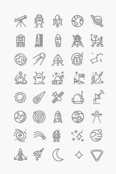 Any of these would make a cool stick and poke tattoo for a space fan. Doodle Inspiration, Tattoo Inspiration, Mini Tattoos, Trendy Tattoos, Small Tattoos, Stick N Poke Tattoo, Stick And Poke, Finger Tattoos, Body Art Tattoos