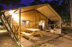 Au camping de la Boyse - Luxury Tente Lodge | Hébergement insolite | Jura, France | #JuraTourisme